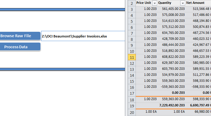 Excel Report Automation