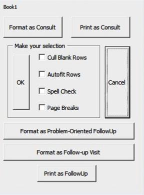 Excel User Form